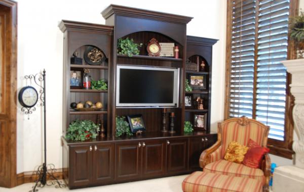 Alder Family Room Cabinet
