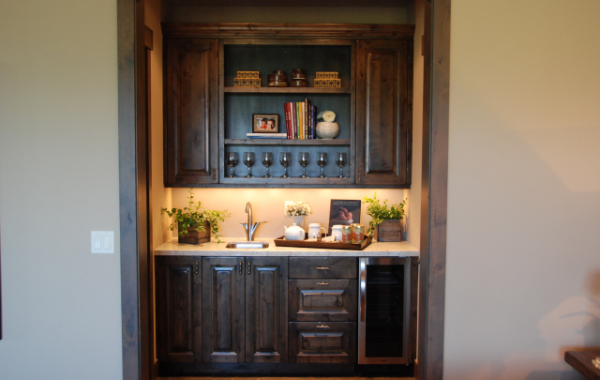 Dark Alder Wet Bar