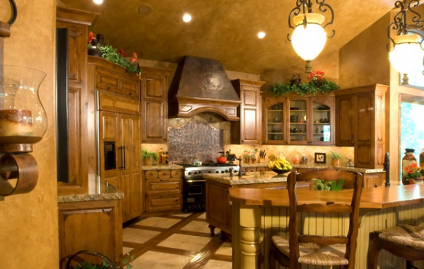 Rustic Cherry Kitchen