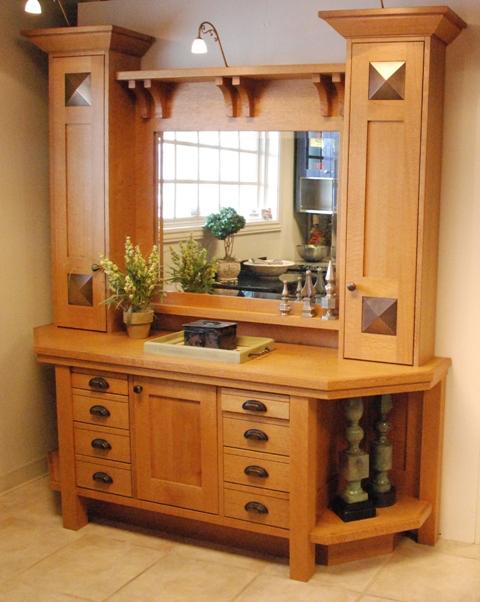 Quarter Sawn Oak Vanity